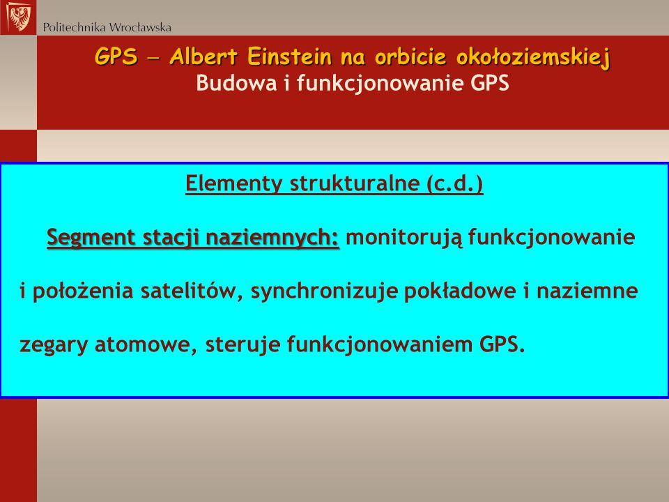 Elementy strukturalne (c.d.)