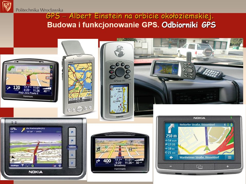 Budowa i funkcjonowanie GPS. Odbiorniki GPS