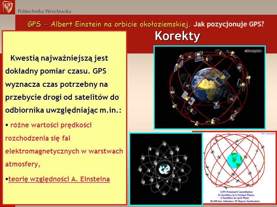 GPS  Albert Einstein na orbicie okołoziemskiej. Jak pozycjonuje GPS