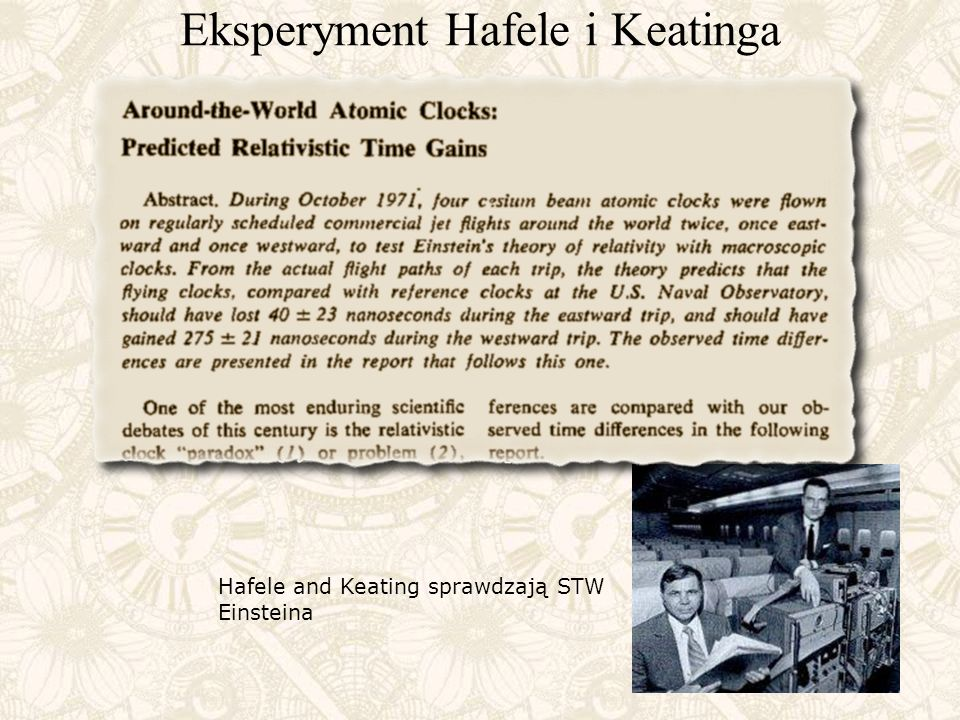 Eksperyment Hafele i Keatinga