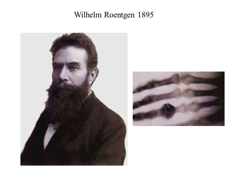Wilhelm Roentgen 1895