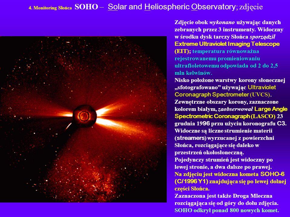 SOHO odkrył ponad 800 nowych komet.