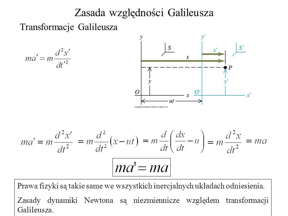 Zasada względności Galileusza