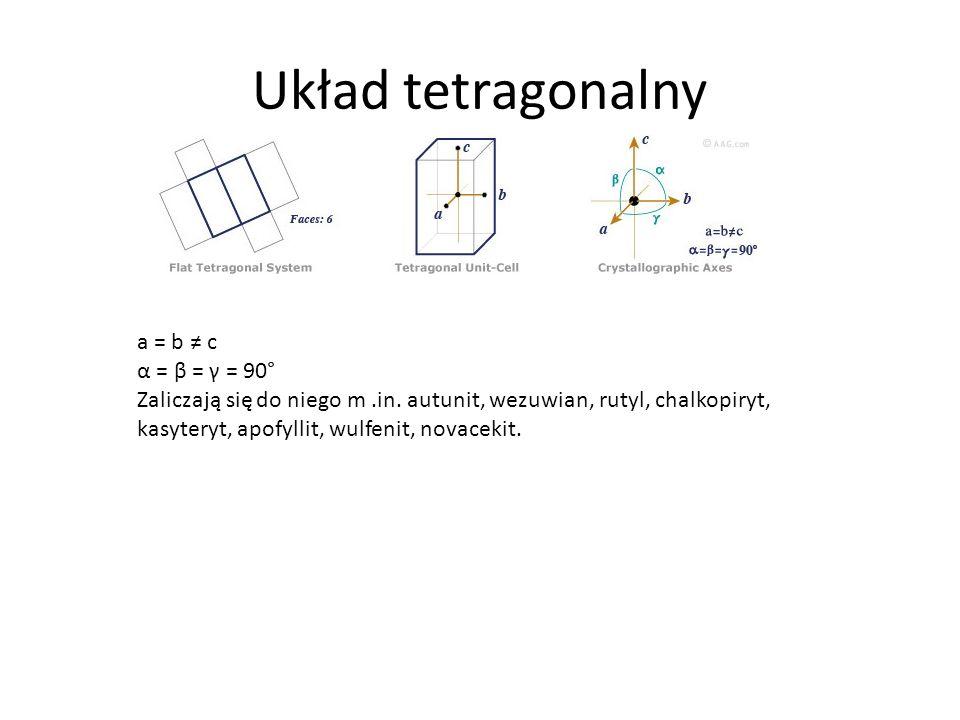 Układ tetragonalny