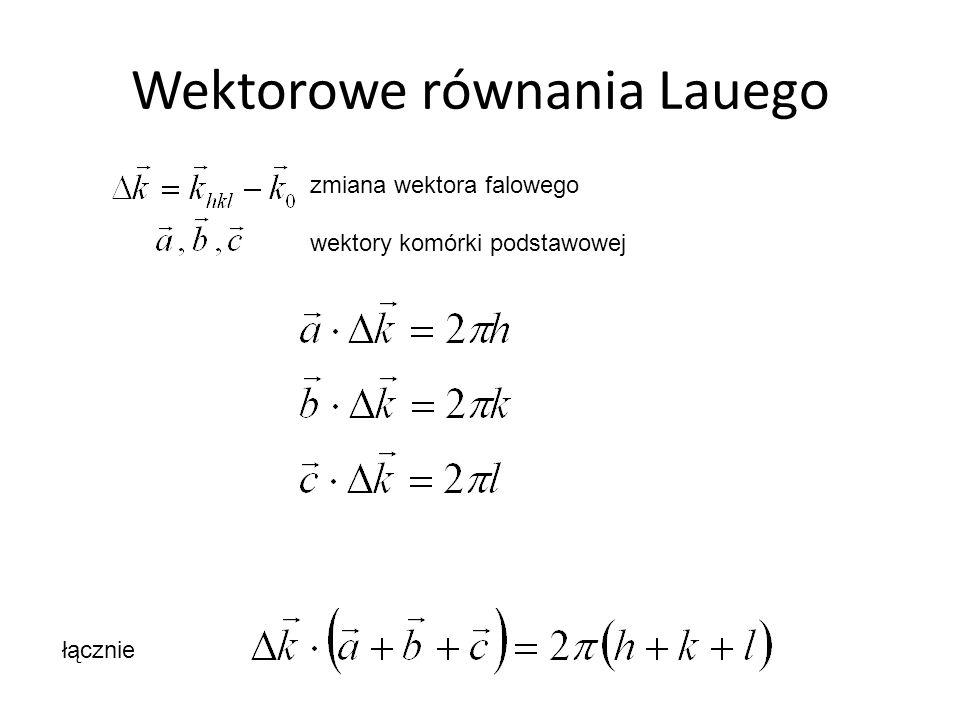 Wektorowe równania Lauego