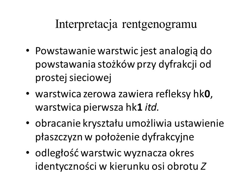 Interpretacja rentgenogramu