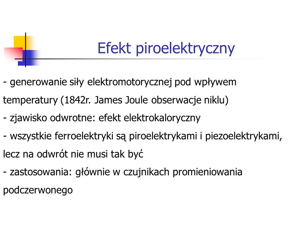 Efekt piroelektryczny