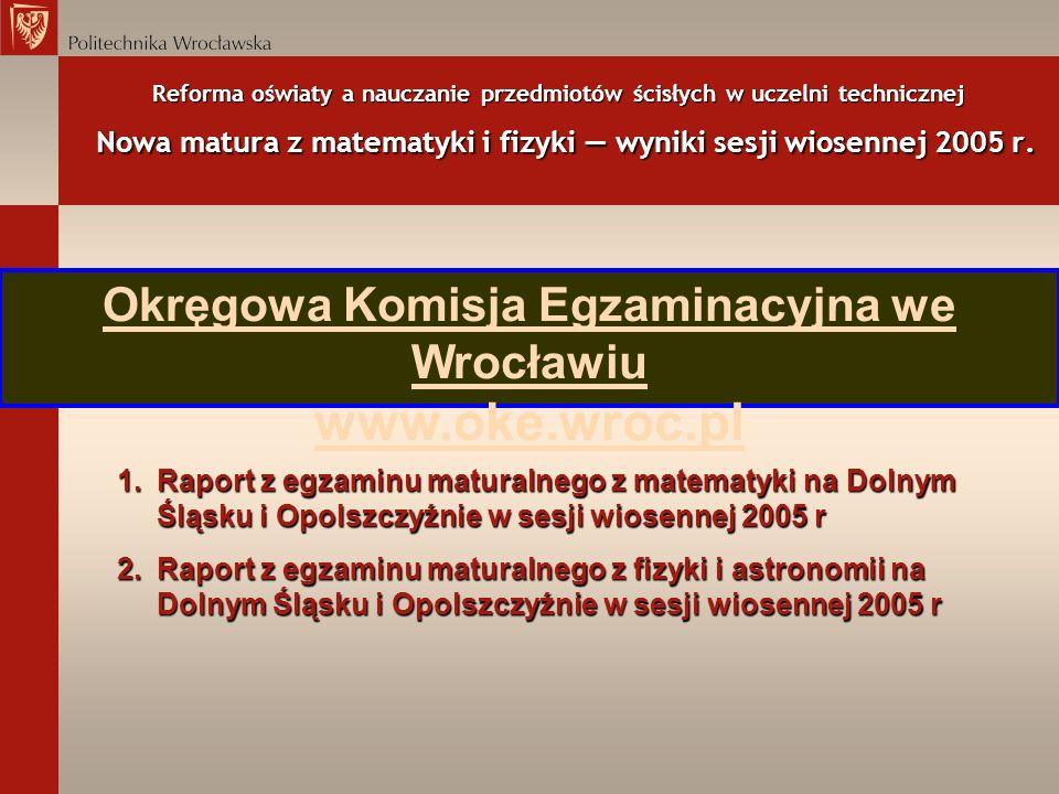 Okręgowa Komisja Egzaminacyjna we Wrocławiu