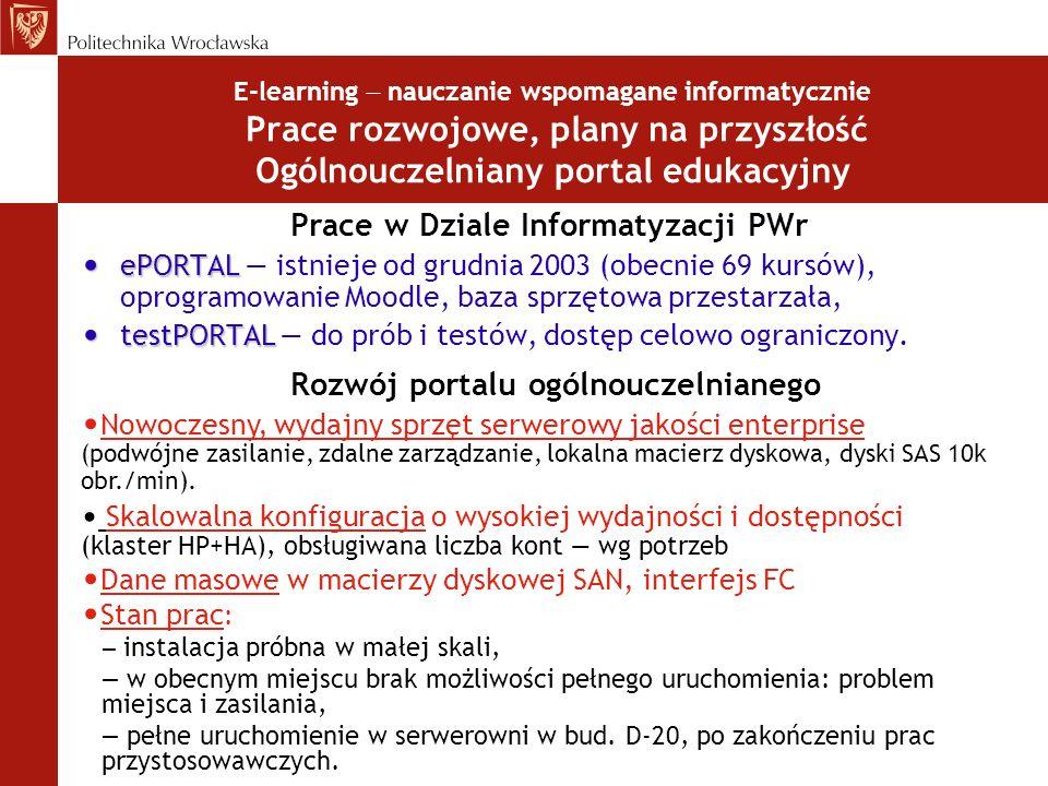 Prace w Dziale Informatyzacji PWr
