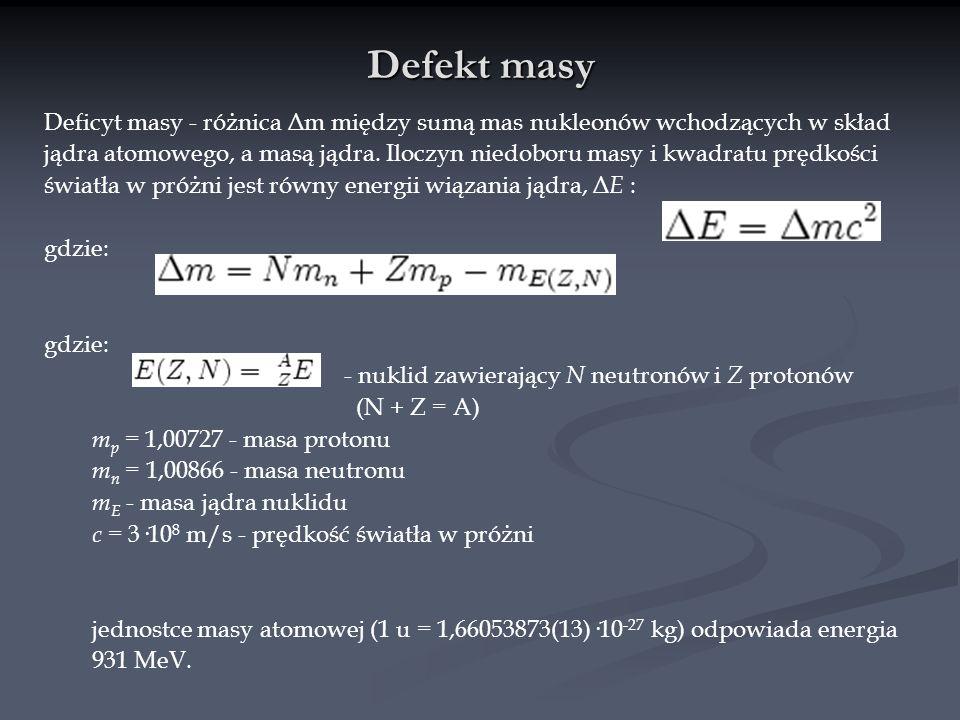 Defekt masy
