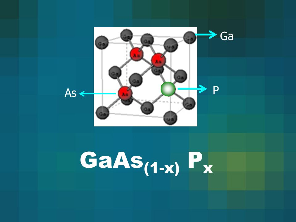 Ga P As GaAs(1-x) Px