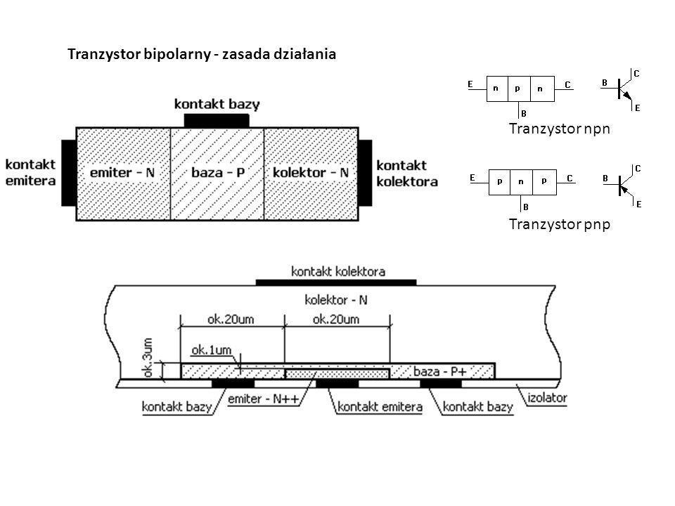 Tranzystor bipolarny - zasada działania