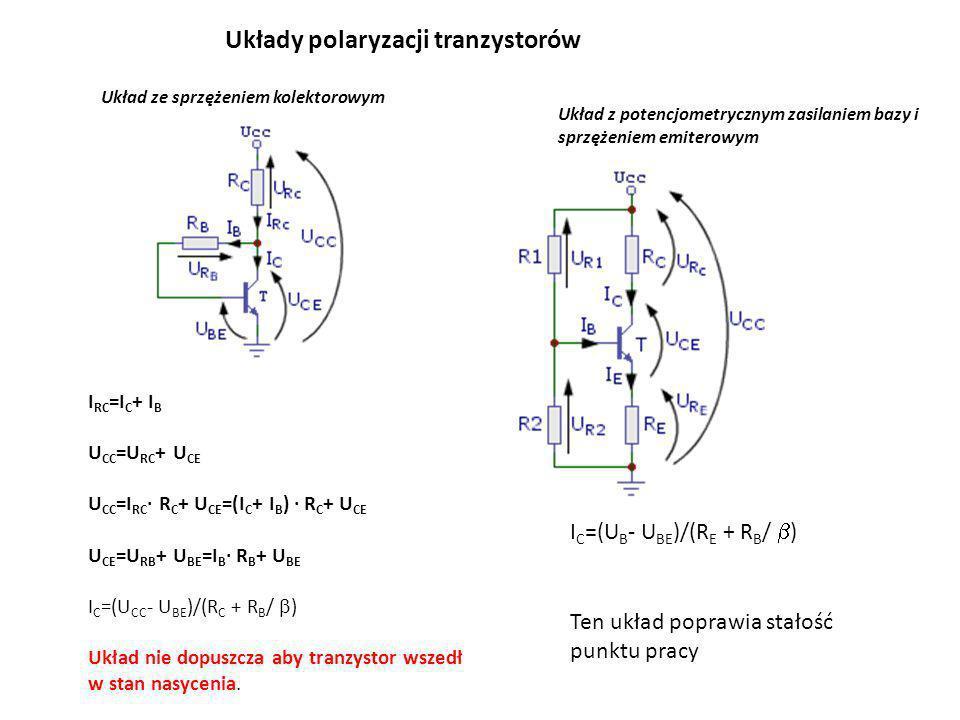 Układy polaryzacji tranzystorów