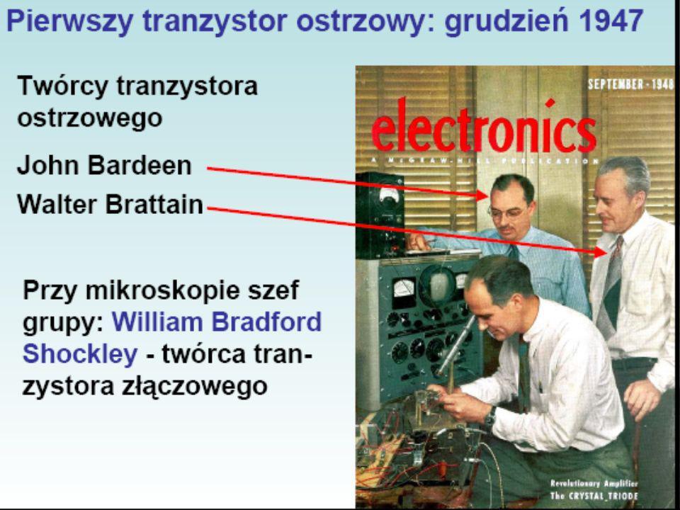 Tranzystory PODSTAWY ELEKTRONIKI – Jakub Dawidziuk 20 października 2006.
