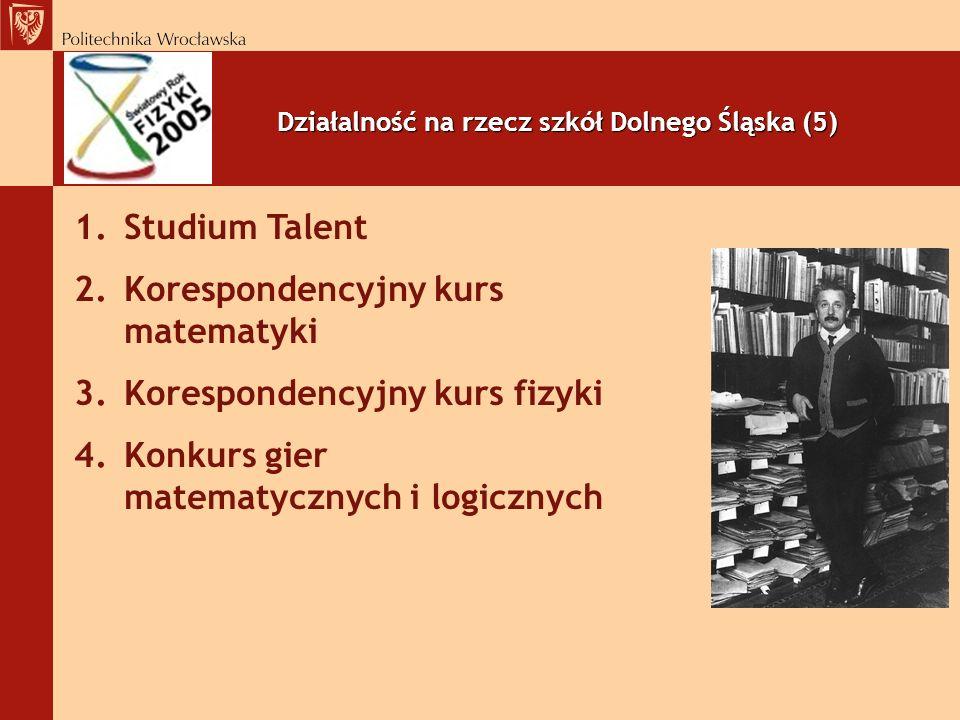 Działalność na rzecz szkół Dolnego Śląska (5)