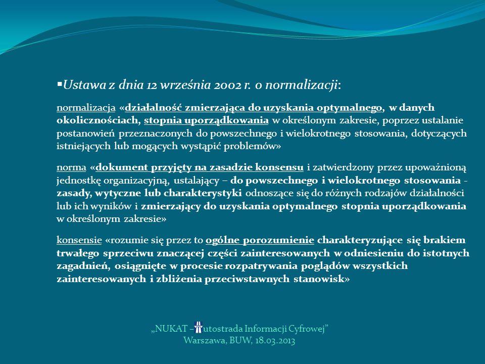 """""""NUKAT – Autostrada Informacji Cyfrowej"""