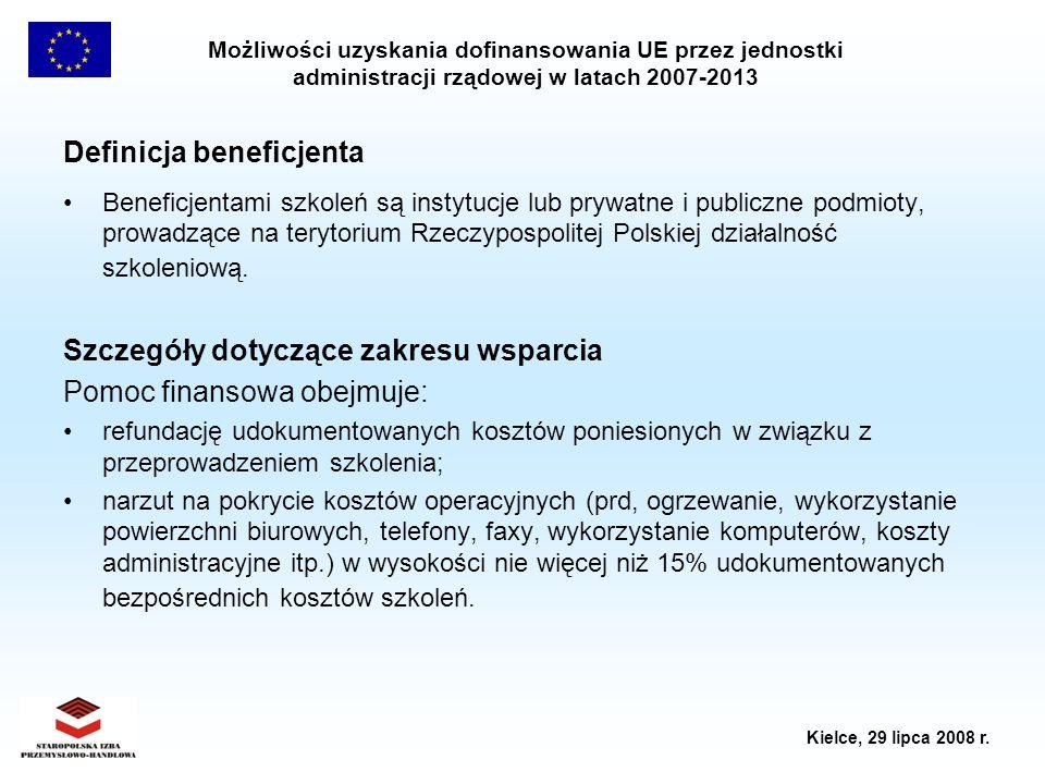 Definicja beneficjenta