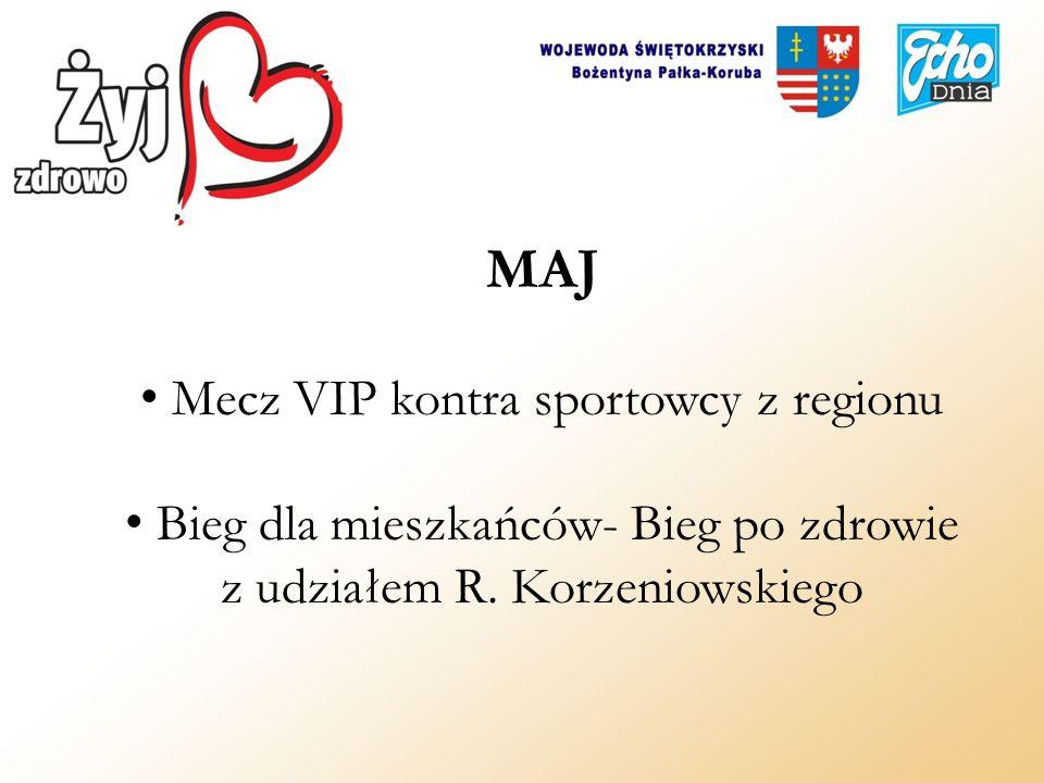 MAJ Mecz VIP kontra sportowcy z regionu