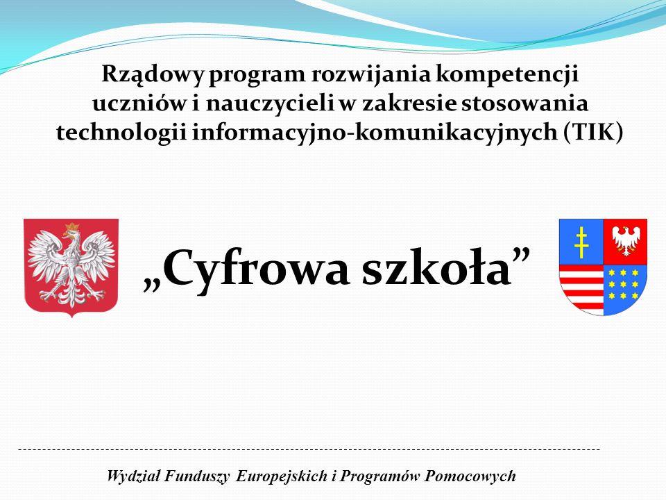 Wydział Funduszy Europejskich i Programów Pomocowych