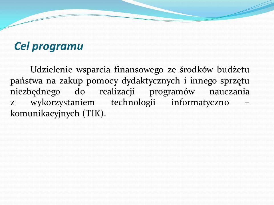 Cel programu
