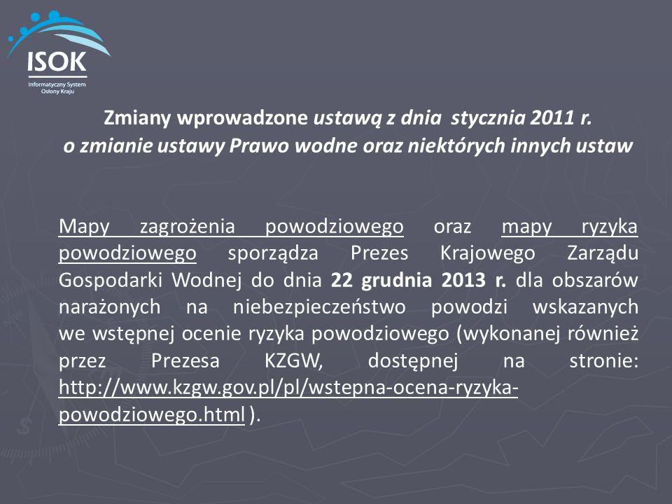 Zmiany wprowadzone ustawą z dnia stycznia 2011 r