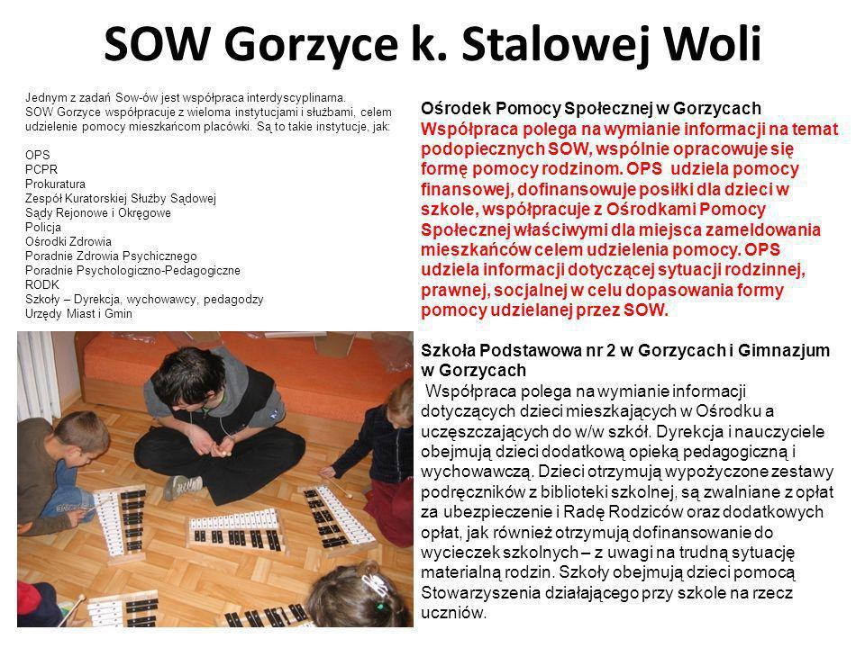 SOW Gorzyce k. Stalowej Woli