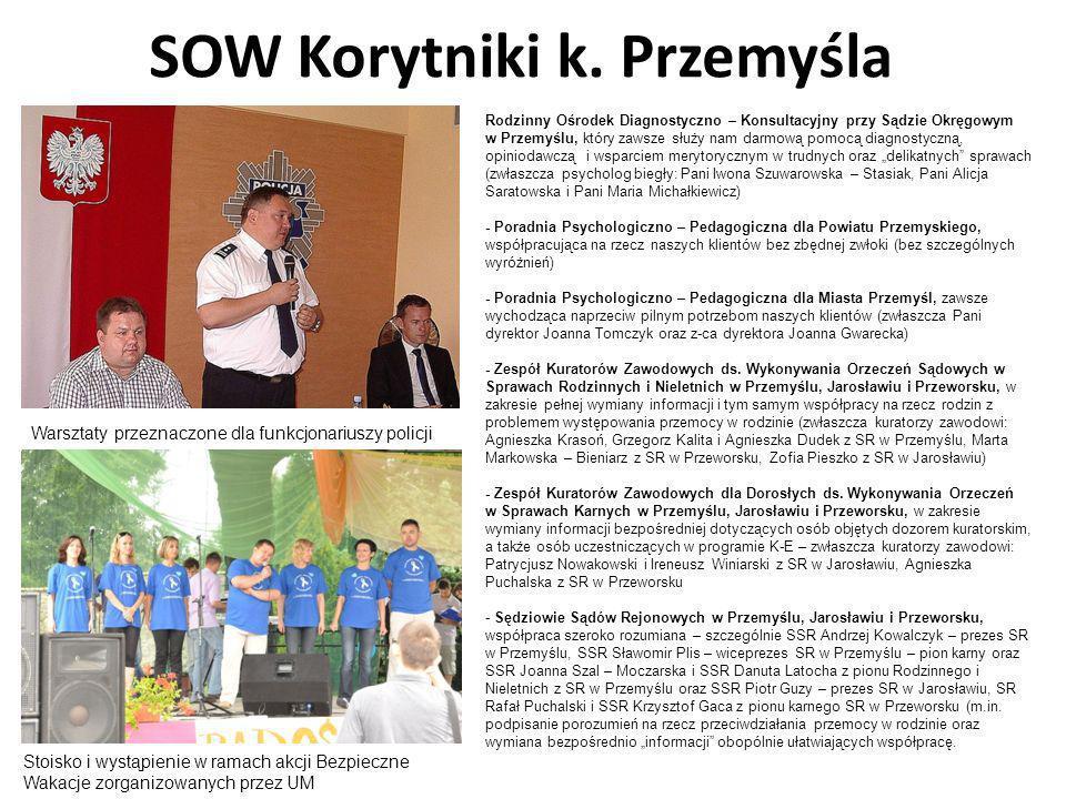 SOW Korytniki k. Przemyśla