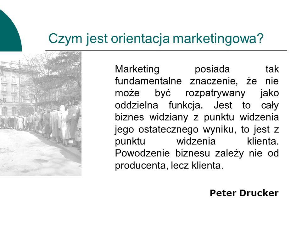 Czym jest orientacja marketingowa