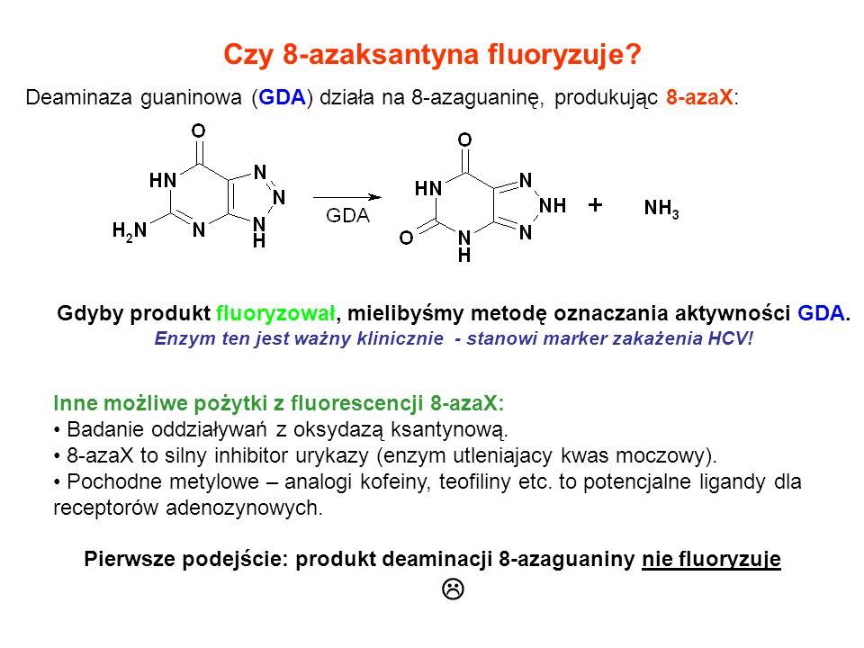 Czy 8-azaksantyna fluoryzuje