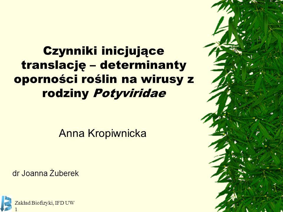 Anna Kropiwnicka dr Joanna Żuberek