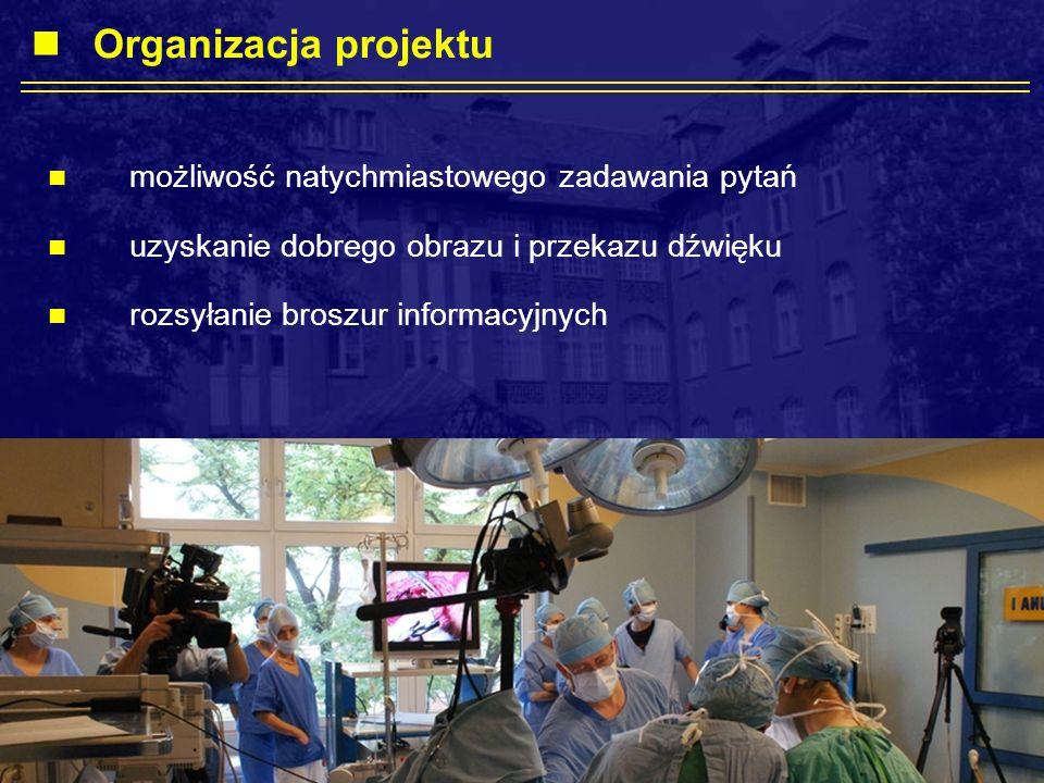 Organizacja projektu możliwość natychmiastowego zadawania pytań