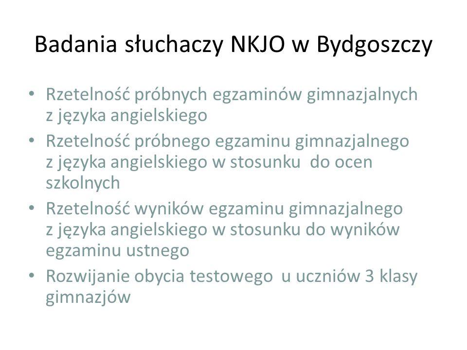 Badania słuchaczy NKJO w Bydgoszczy