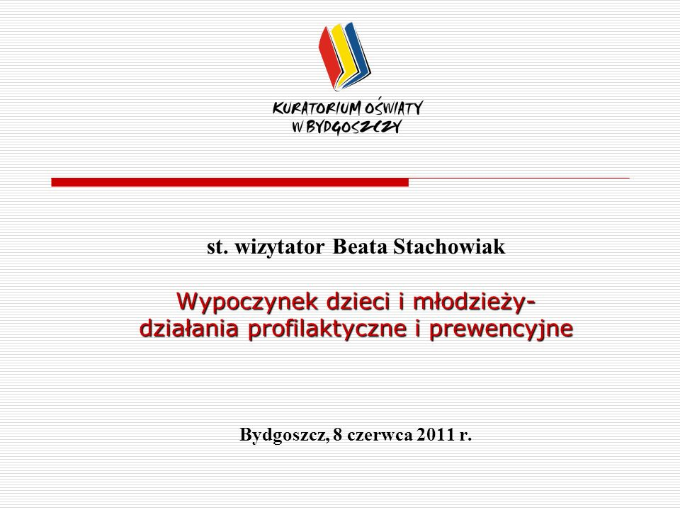 st. wizytator Beata Stachowiak