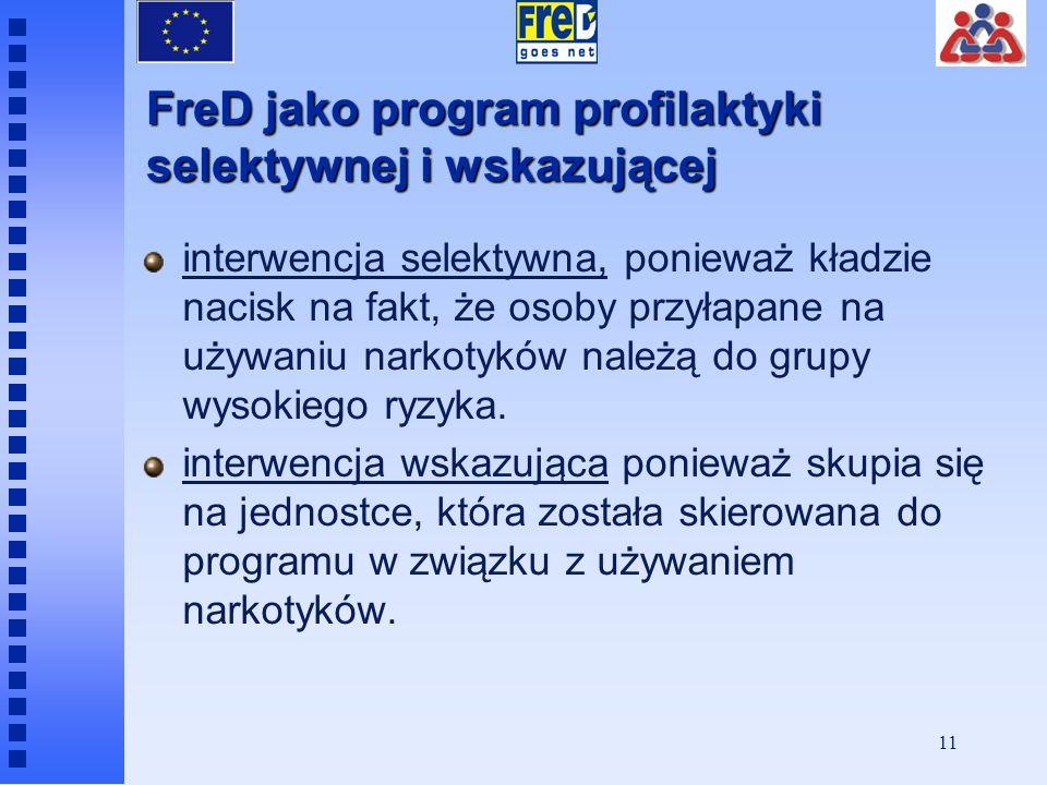 FreD jako program profilaktyki selektywnej i wskazującej