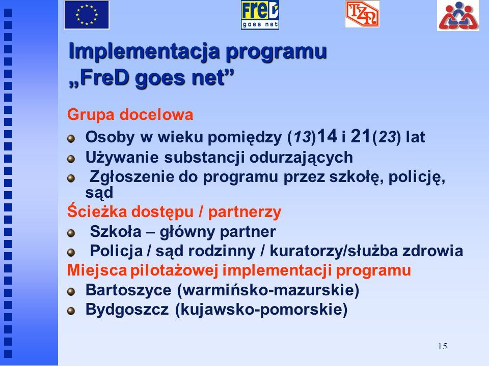 "Implementacja programu ""FreD goes net"