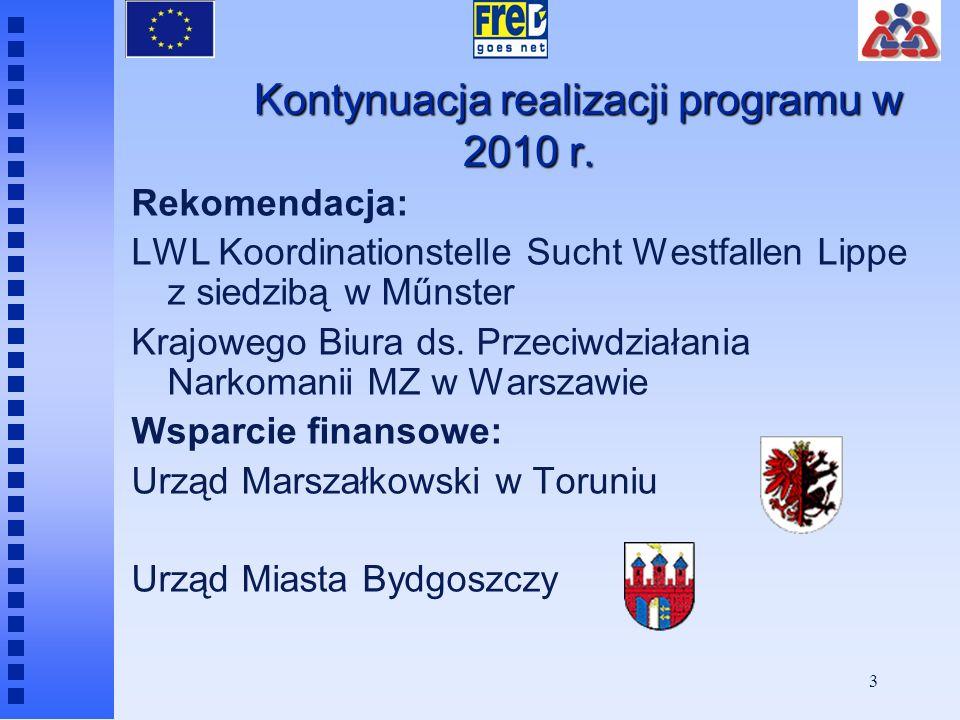 Kontynuacja realizacji programu w 2010 r.
