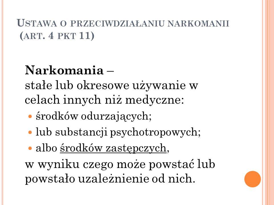 Ustawa o przeciwdziałaniu narkomanii (art. 4 pkt 11)
