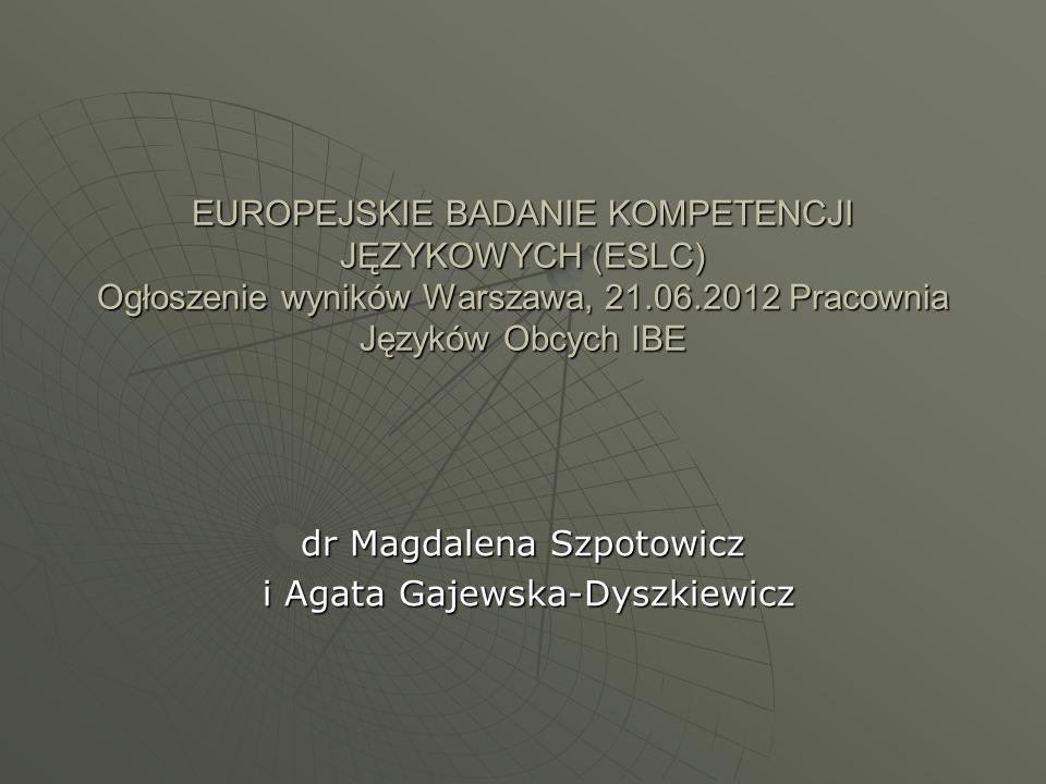 dr Magdalena Szpotowicz i Agata Gajewska-Dyszkiewicz