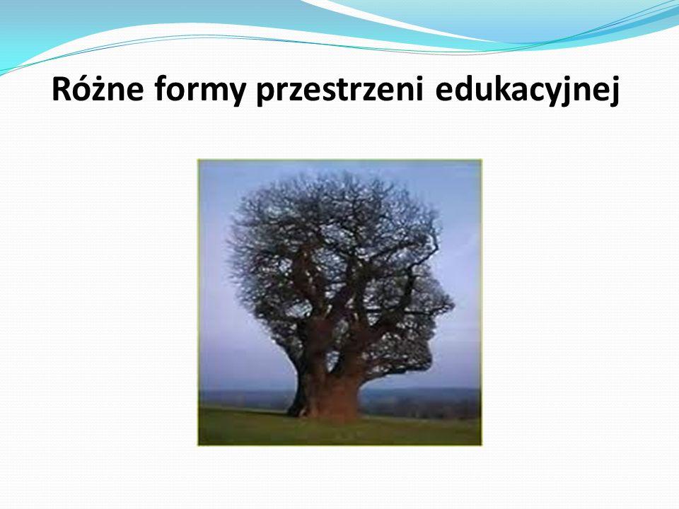 Różne formy przestrzeni edukacyjnej