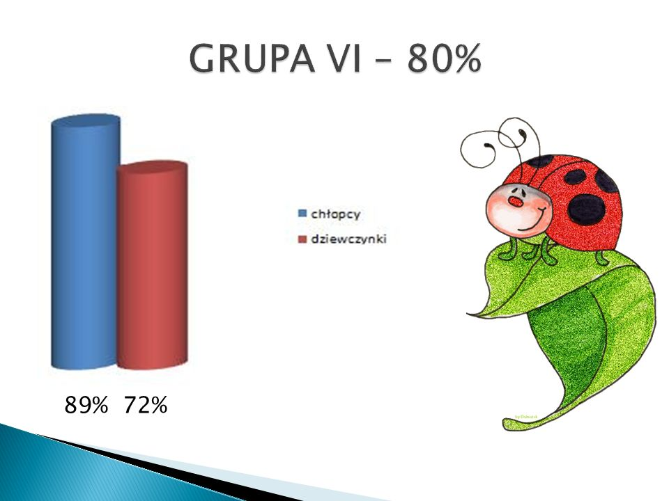 GRUPA VI – 80% 89% 72%