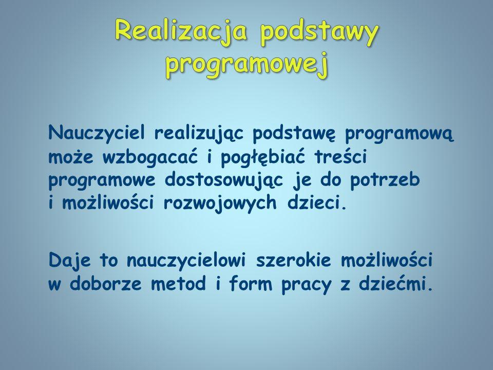Realizacja podstawy programowej