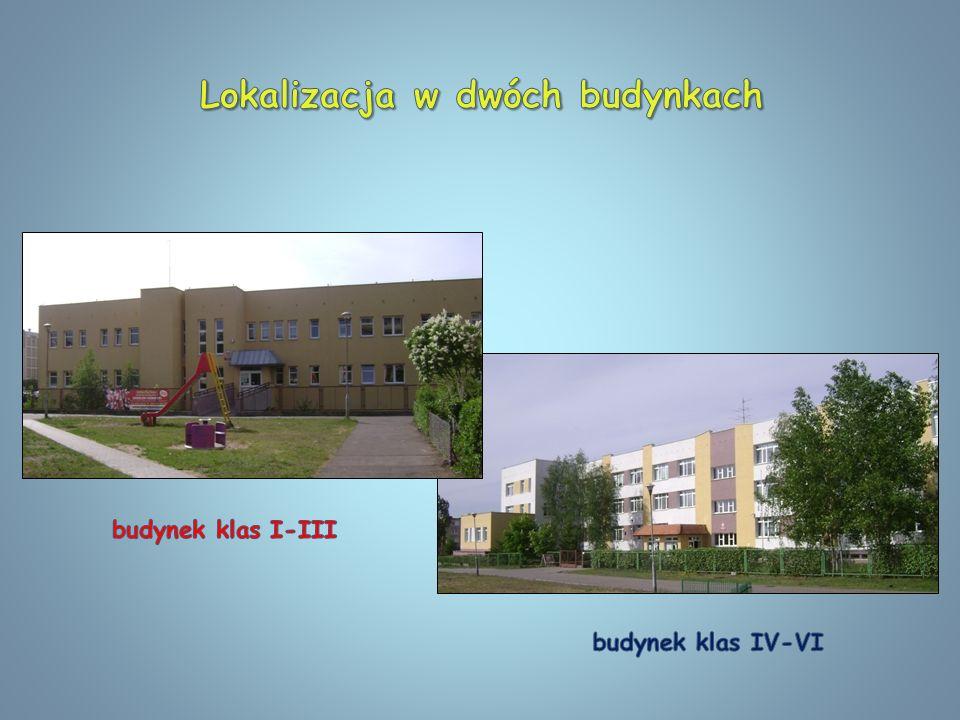 Lokalizacja w dwóch budynkach