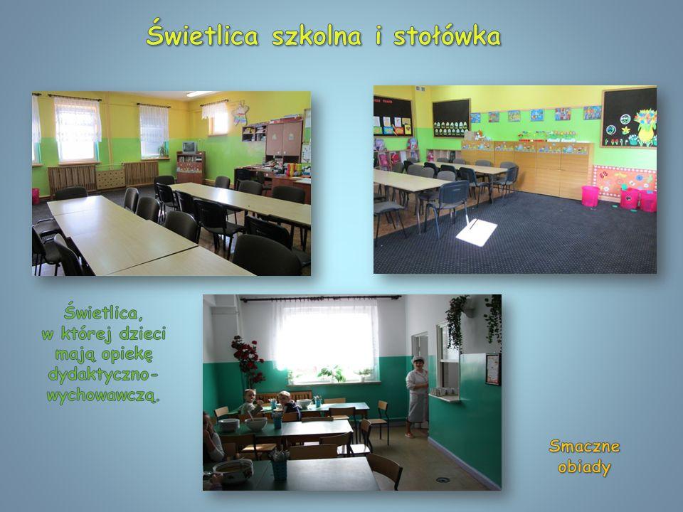Świetlica szkolna i stołówka