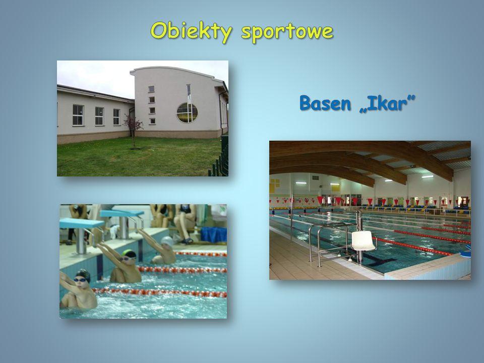 """Obiekty sportowe Basen """"Ikar"""