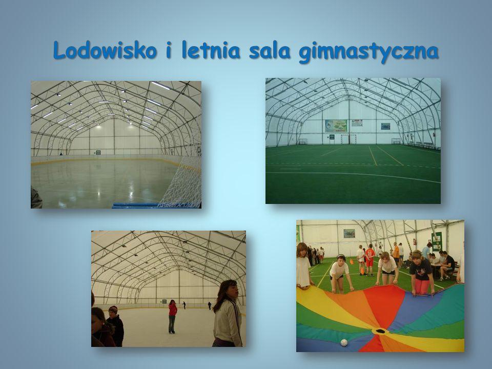 Lodowisko i letnia sala gimnastyczna
