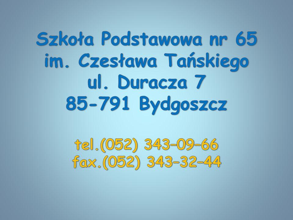 Szkoła Podstawowa nr 65 im. Czesława Tańskiego ul