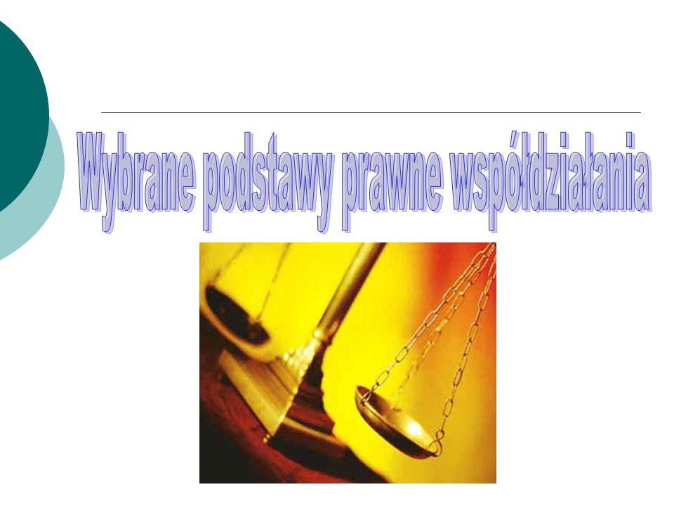 Wybrane podstawy prawne współdziałania