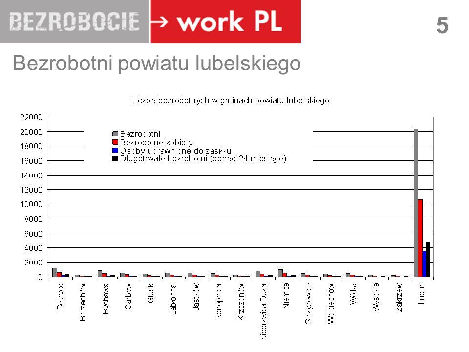 Bezrobotni powiatu lubelskiego
