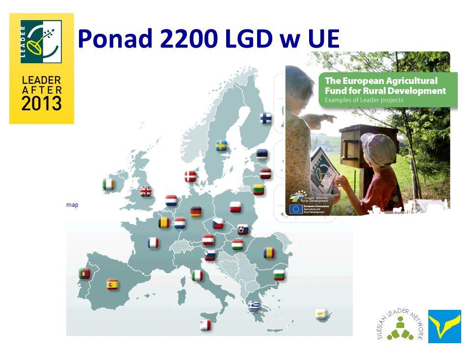 Ponad 2200 LGD w UE