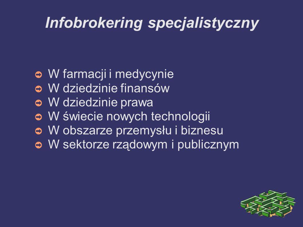 Infobrokering specjalistyczny